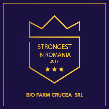 "BIO FARM CRUCEA is ""STRONGEST IN ROMANIA 2017"""