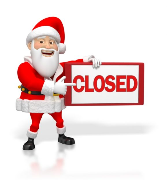 Closed for Christmas Festivities from 23rd Dec 2017 to 7th Jan 2018